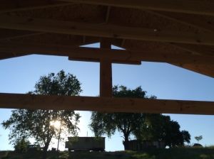 The Cross- stands as the cornerstone of our project and promise of His salvation!